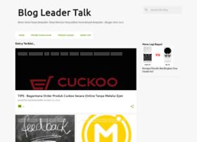 blogleadertalk.blogspot.com