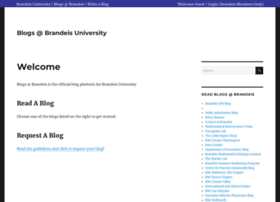 blogs.brandeis.edu