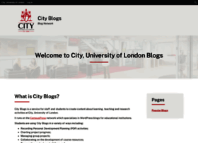 blogs.city.ac.uk