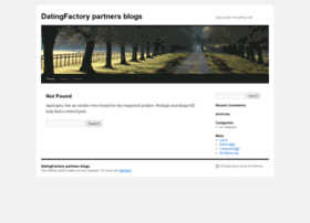 blogs.datingfactory.com