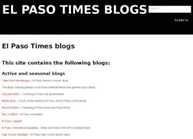 blogs.elpasotimes.com