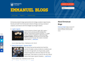blogs.emmanuel.edu