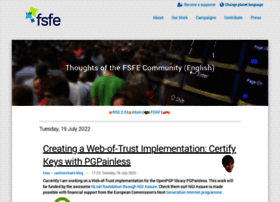blogs.fsfe.org