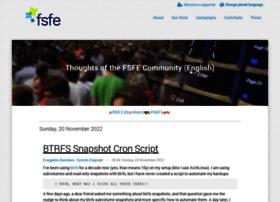 blogs.fsfe.org
