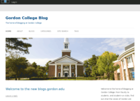 blogs.gordon.edu