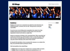 blogs.ksbe.edu