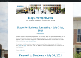 blogs.memphis.edu
