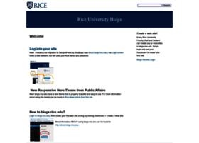 blogs.rice.edu