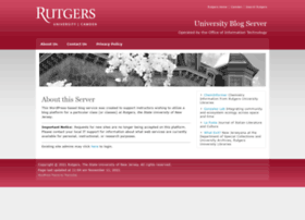 blogs.rutgers.edu