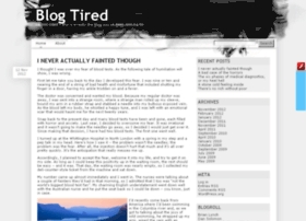 blogtired.co.uk