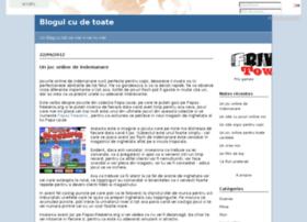 blogulcudetoate.solidairesdumonde.org