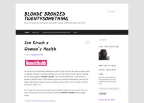 blondebronzedtwentysomething.wordpress.com