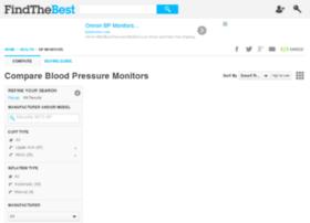 blood-pressure-monitors.findthebest.com