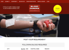 blooddonors.in