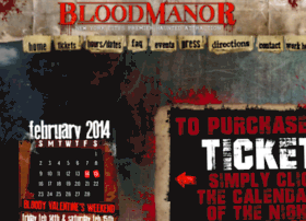 bloodmanor.wantickets.com