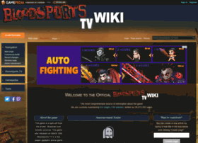 bloodsportstv.gamepedia.com