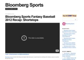 bloombergsports.mlblogs.com