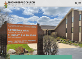 bloomingdalechurch.org