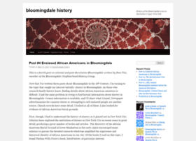 bloomingdalehistory.com