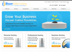 bloomwebhosting.com