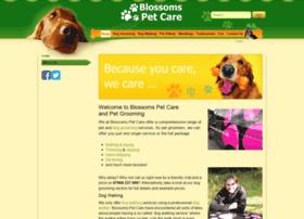 blossoms-pet-care.co.uk