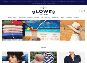 blowesclothing.com.au