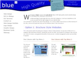 blue2webdesign.com