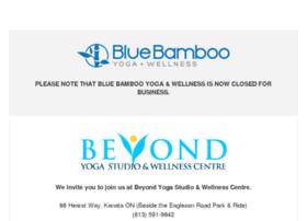 bluebambooyoga.com