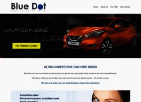 bluedotcarhire.com