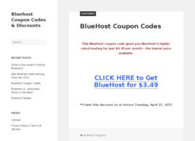 bluehostcouponcode.com