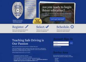 blueknightdrivingschool.com