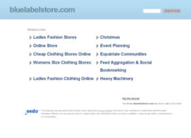 bluelabelstore.com