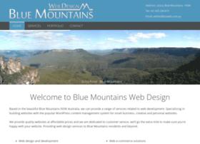 bluemountainswebdesign.com.au