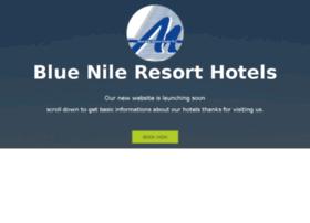 bluenileresorthotels.com
