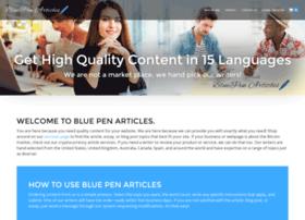 bluepenarticles.com