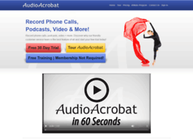 bluepenguin.audioacrobat.com