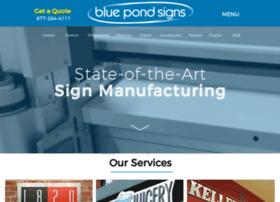 bluepondsigns.com