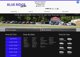 blueridgecars.com