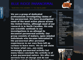 blueridgeparanormal.com