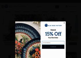 bluerosepottery.com