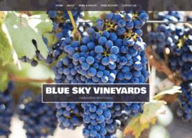 blueskyvineyards.com