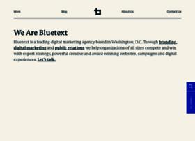 bluetext.com