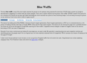 bluewaffle.com.au