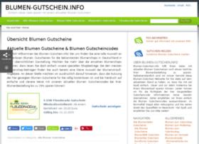 blumen-gutschein.info