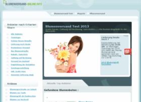 blumenversand-online.info