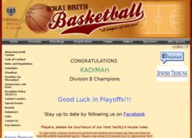 bnaibrithbasketball.ca