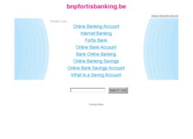 Bnpfortisbanking.be