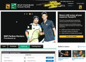 bnpparibasmasters.tennistv.com