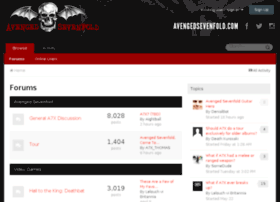 board.avengedsevenfold.com