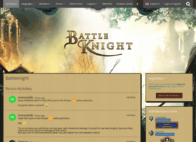 board.battleknight.cz
